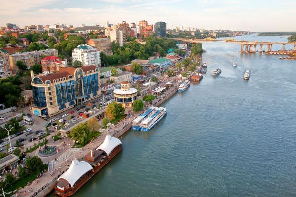 Rostov-on-Don panoramic photo