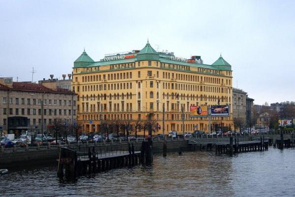 Courtyard St. Petersburg Vasilievsky фото
