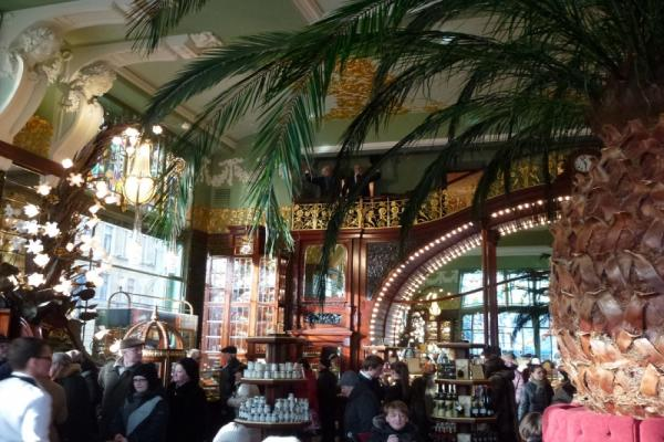 Кофейня при магазине Купцов Елисеевых фото