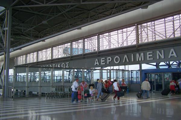 Аэропорт Салоников Македония фото