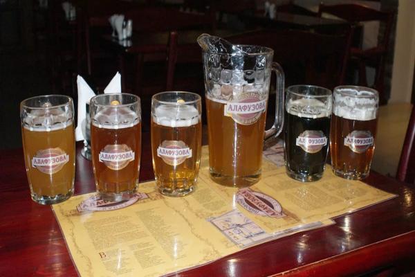 Brewery merchant Alafuzova photo