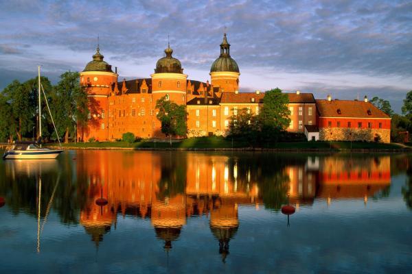 Замок Грипсхольм фото