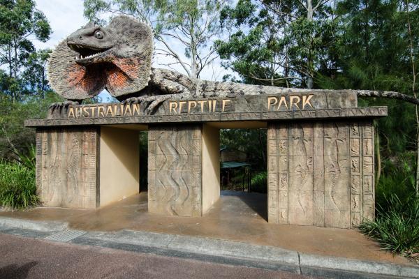 Парк рептилий фото