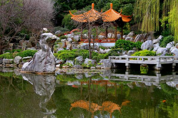 Chinese Friendship Garden photo