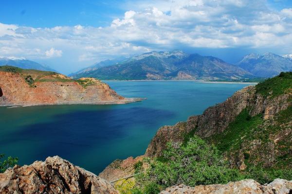Чарвакское водохранилище фото