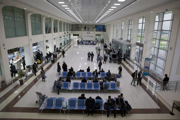 Аэропорт Ташкента фото