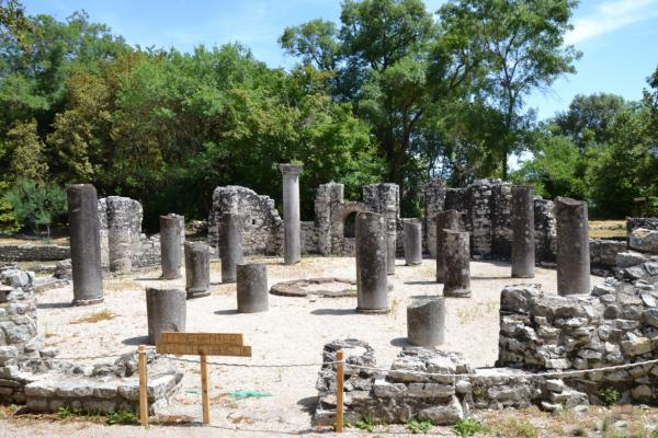 Ancient ruins of Butrint photo