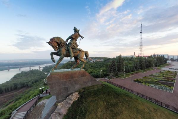 Ufa panoramic photo