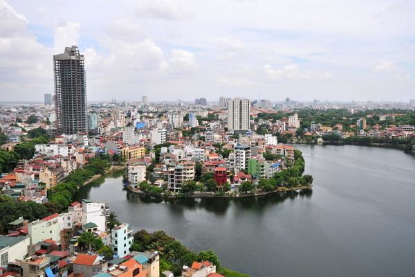 Hanoi panoramic photo