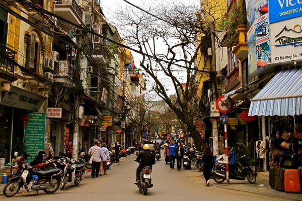 Старый квартал Ханоя фото