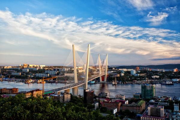 Vladivostok panoramic photo