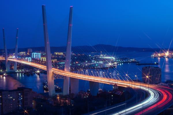 Cable-stayed bridges photo