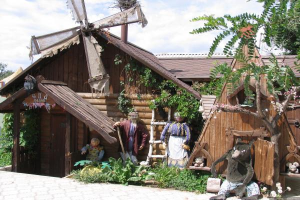 Parque-Museo de Cuentos de Hadas de Rusia que lleva el nombre de A.S.  Foto de Pushkin
