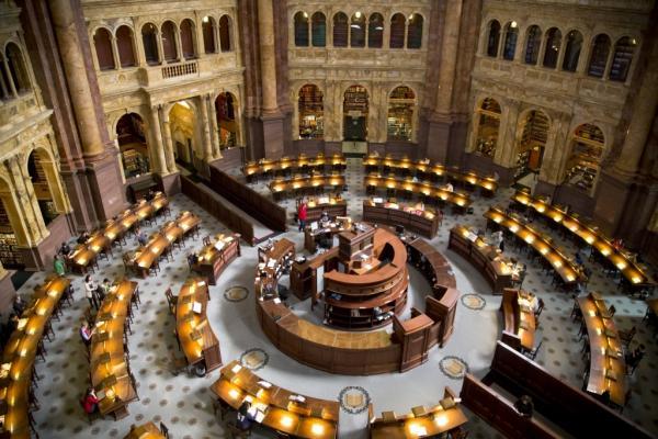 Библиотека Конгресса фото