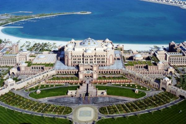 Abu Dhabi panoramic photo