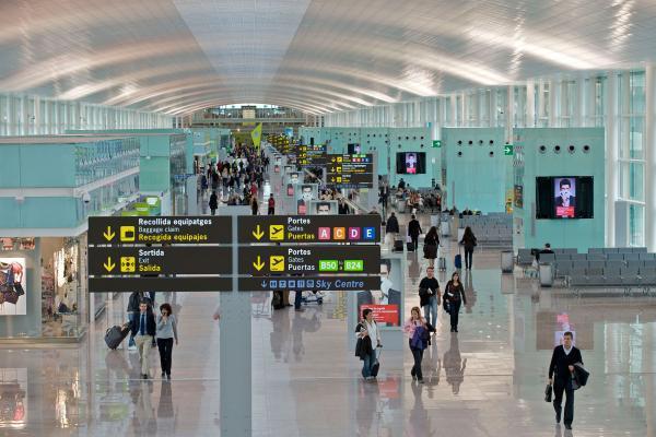 Аэропорт Барселоны Эль Прат фото