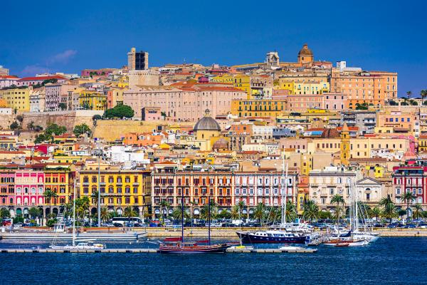 Cagliari panoramic photo
