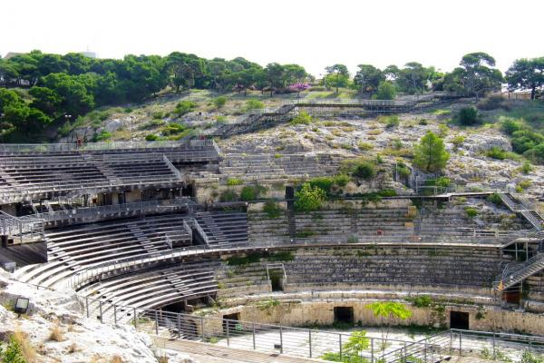 Roman amphitheater photo