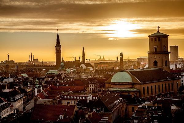 Copenhagen panoramic photo