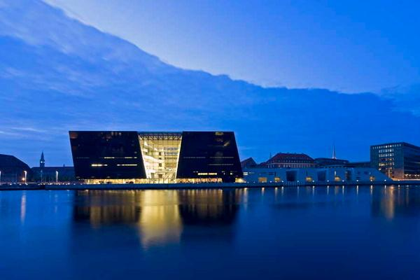 Royal Danish Royal Library Building Black Diamond photo