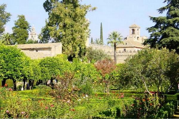 Andalusian gardens photo