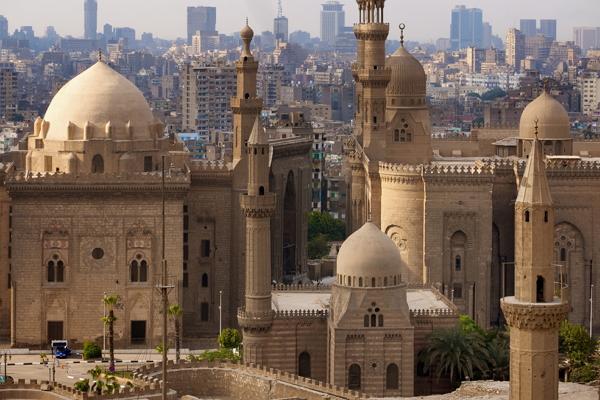 Каир панорамное фото