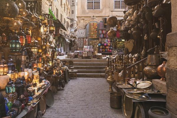 Khan al-Khalili market photo