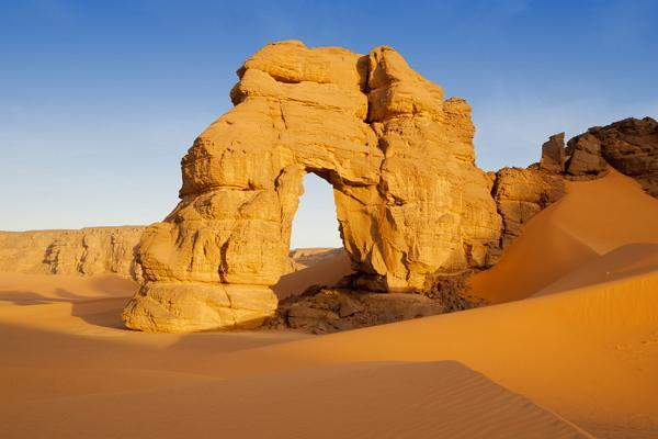 Libyan desert photo