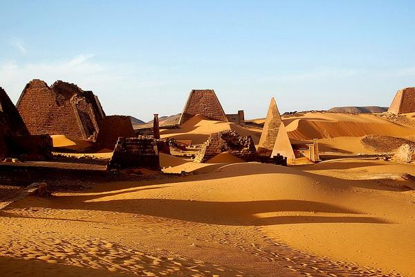 Nubian desert photo