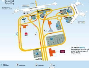 Orly Airport scheme