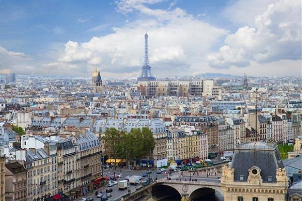 Paris panoramic photo