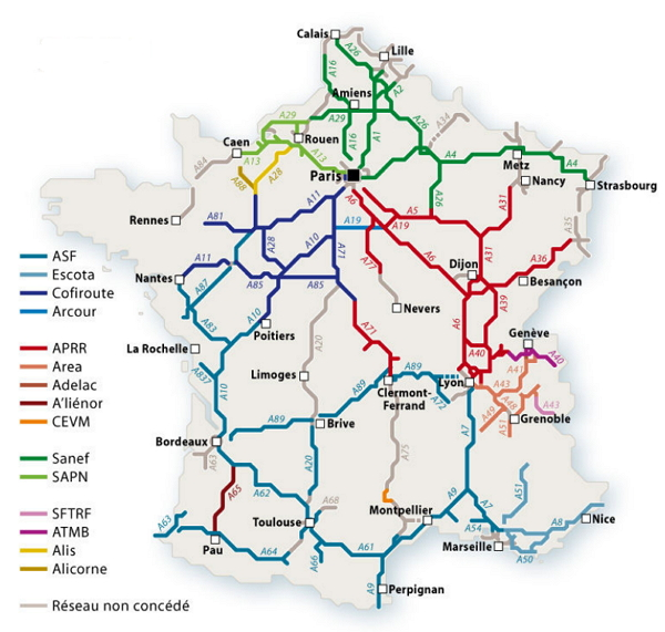 Car Rental in France