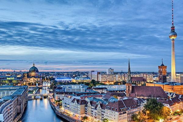 Berlin panoramic photo