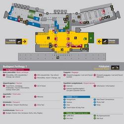 Аэропорт Будапешта схема