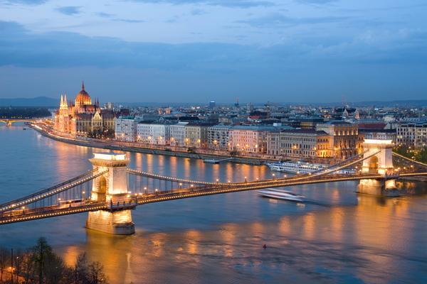 Будапешт панорамное фото