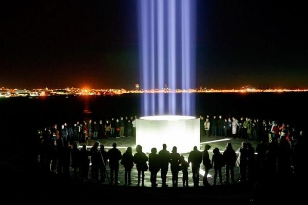 Imagine Peace Tower photo