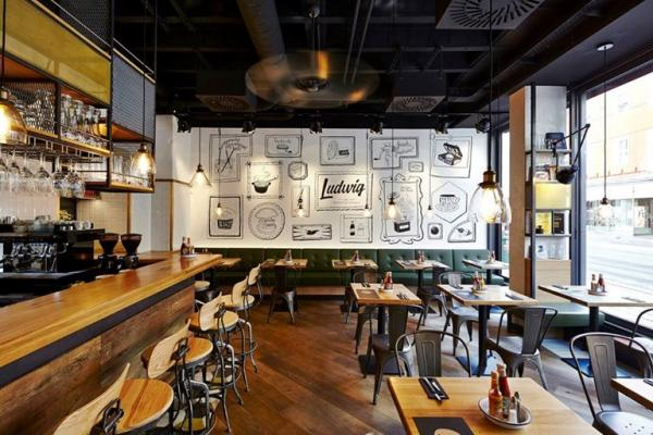 Foto de Ludwig Das Burger Restaurant
