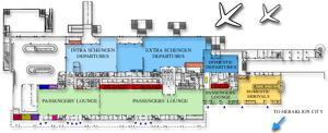 Heraklion Airport Scheme
