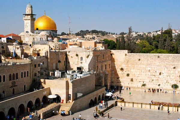 Иерусалим панорамное фото