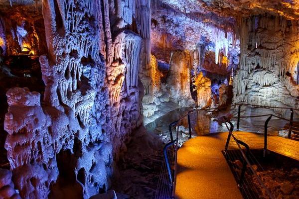 Stalactite cave Sorek photo