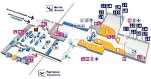 Ciampino Airport Scheme