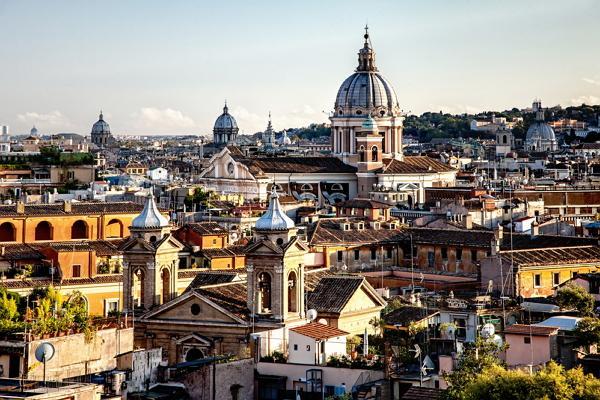 Rome panoramic photo