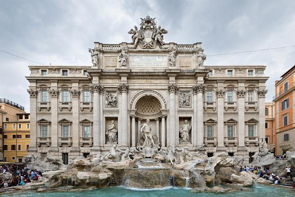 Trevi Fountain photo