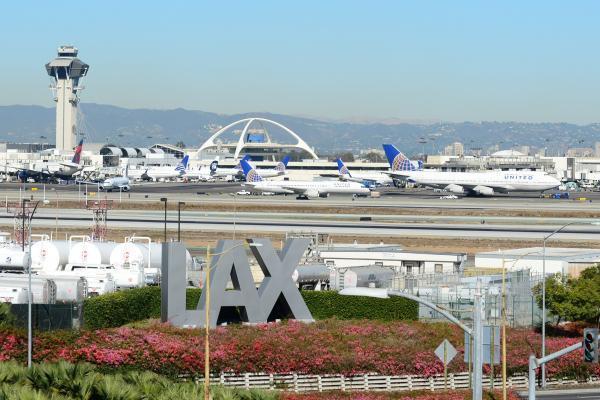 Аэропорт Лос-Анджелеса фото