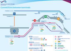 Аэропорт Мадрида (Madrid-Barajas Airport) схема