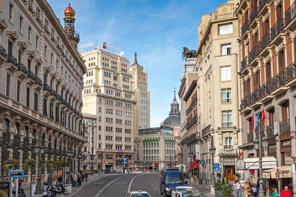 Мадрид панорамное фото