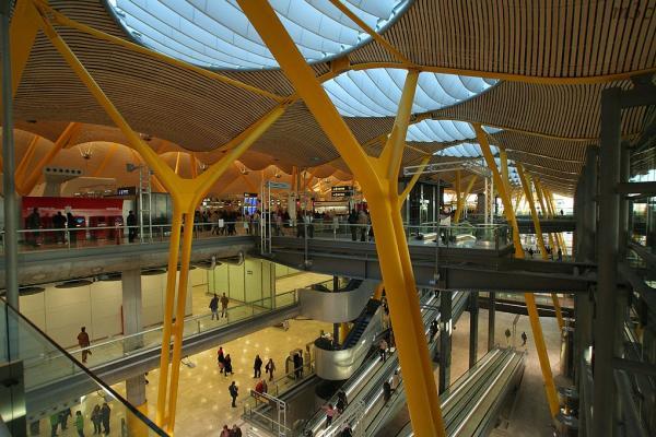 Аэропорт Мадрид-Барахас фото