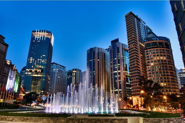 Kuala Lumpur panoramic photo