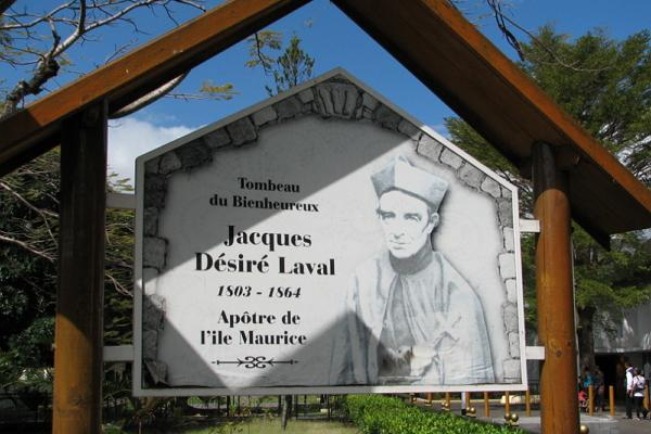 Tomb of Blessed Laval photo
