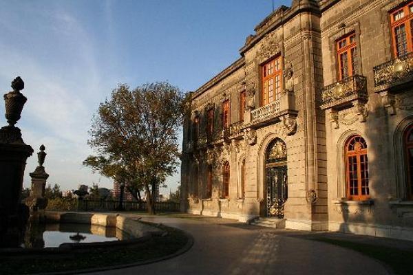 Foto del Palacio de Chapultepec